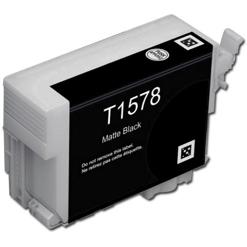 Epson T157820 Matte Black Ink Cartridge-Epson T1578