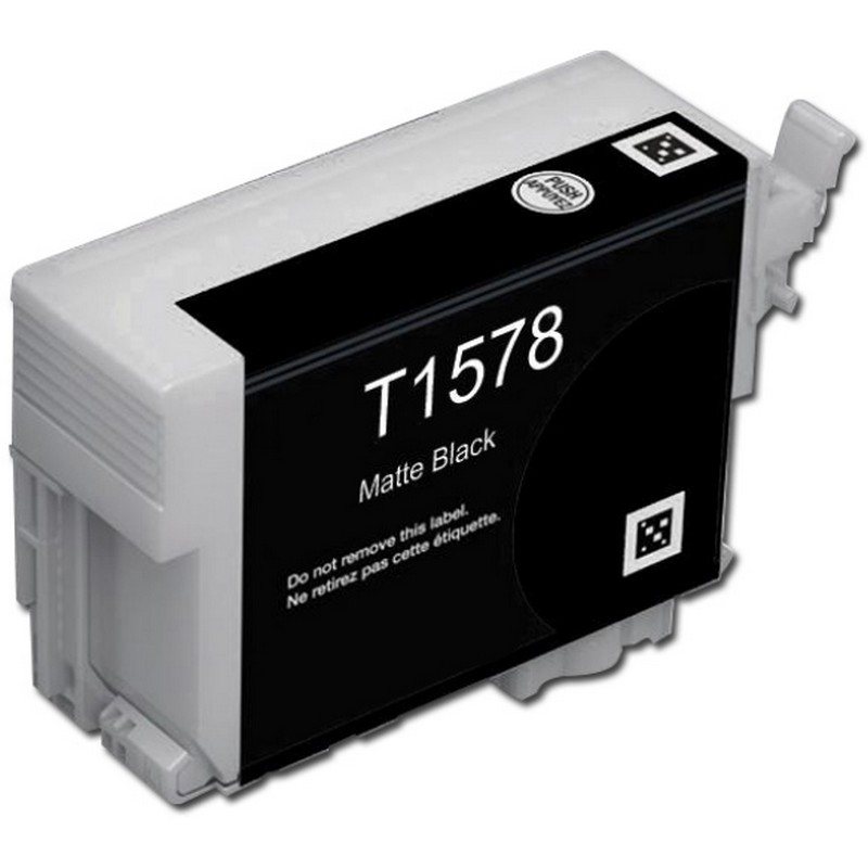 Epson T157820 Matte Black Ink Cartridge-Epson T1578