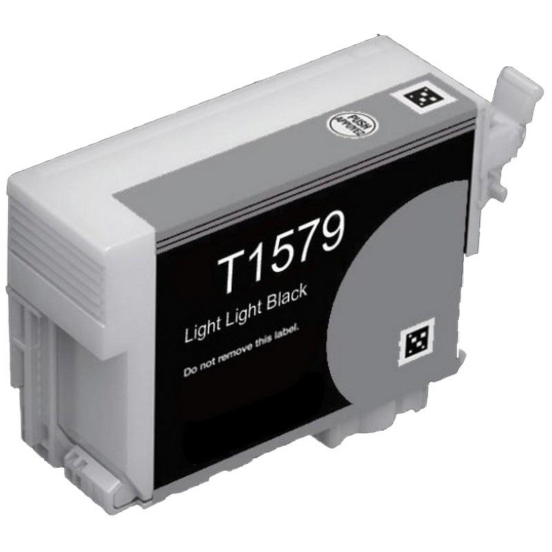 Epson T157920 Lt. Black Ink Cartridge-Epson T1579