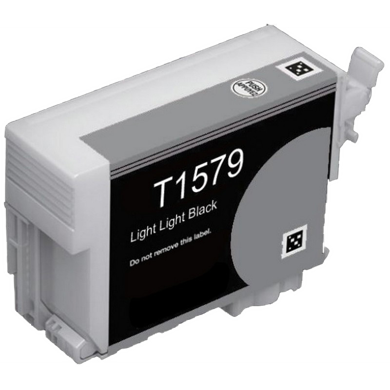 Epson T157920 Lt. Black Ink Cartridge-Epson T1579