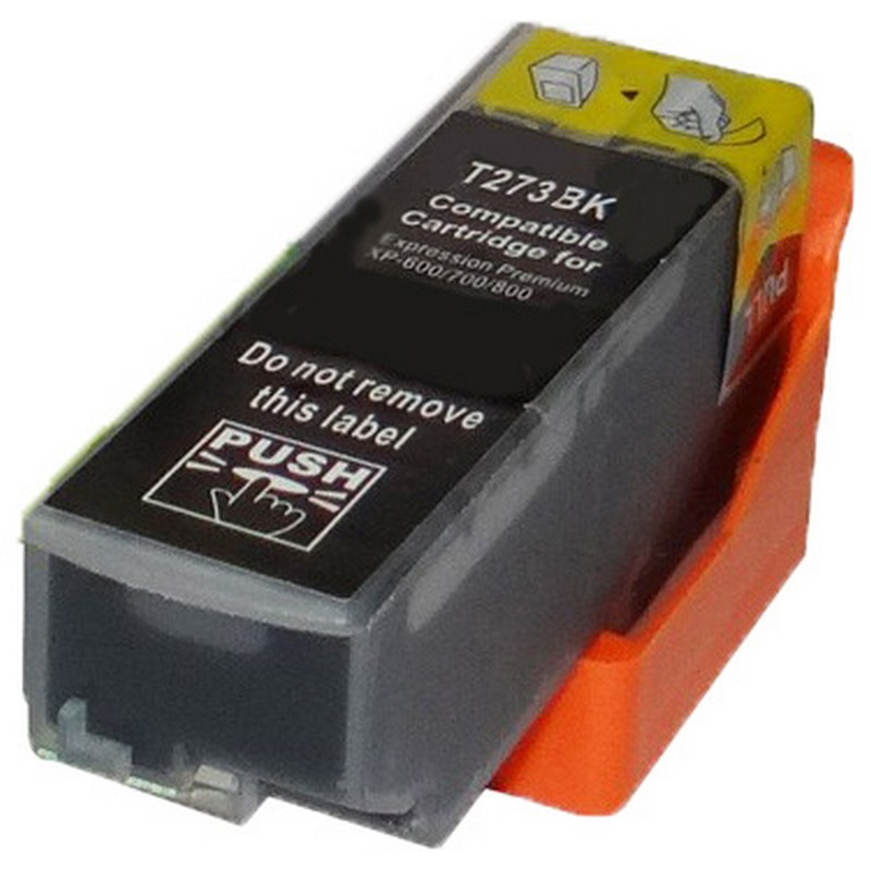 Epson T273020 Black Ink Cartridge-Epson T2730