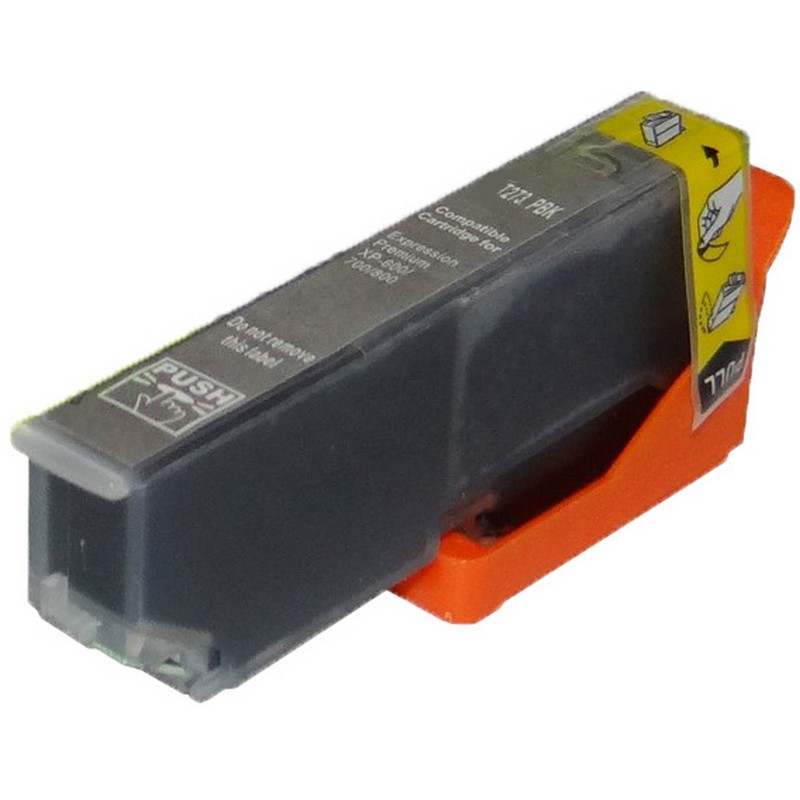 Epson T273120 Photo Black Ink Cartridge-Epson T2731