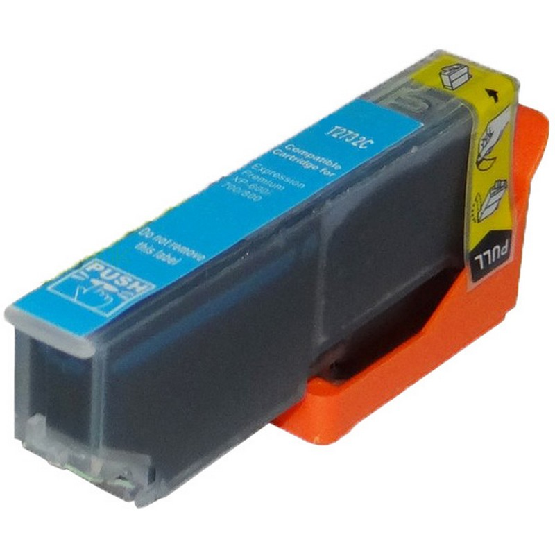 Epson T273220 Cyan Ink Cartridge-Epson T2732