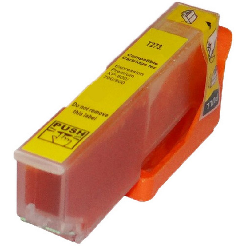 Epson T273420 Yellow Ink Cartridge-Epson T2734