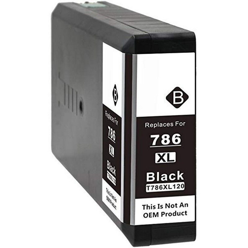 Epson T786XL120 Black Ink Cartridge-Epson 786XL