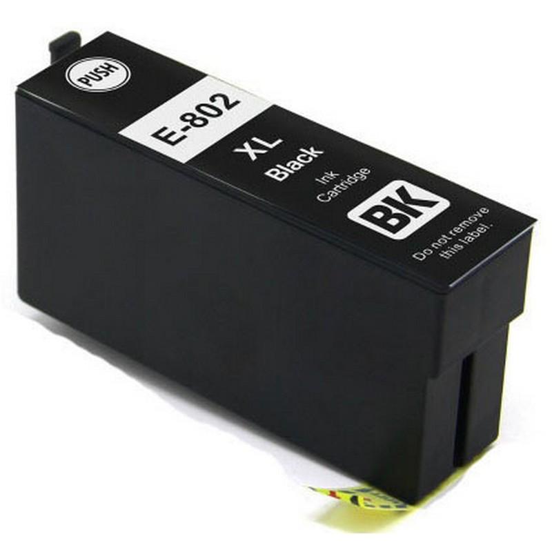 Epson T802XL120 Black Ink Cartridge-Epson 802XL