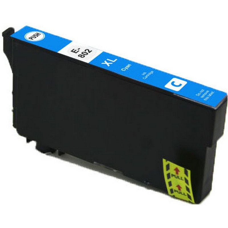 Epson T802XL220 Cyan Ink Cartridge-Epson 802XL