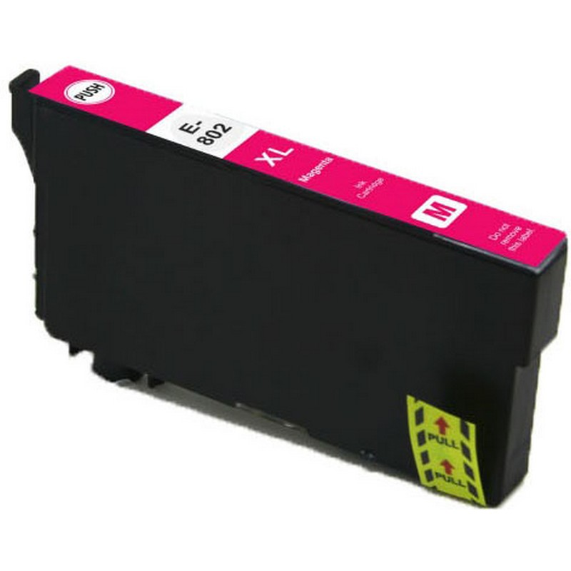Epson T802XL320 Magenta Ink Cartridge-Epson 802XL