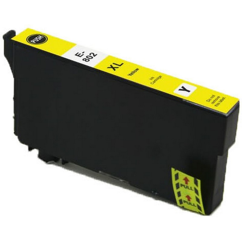 Epson T802XL420 Yellow Ink Cartridge-Epson 802XL