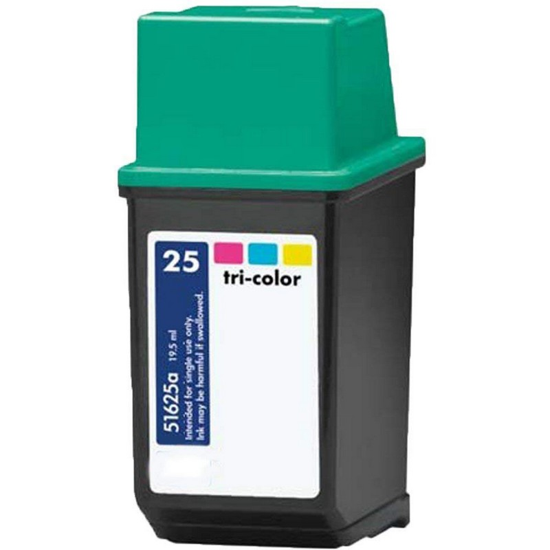HP 51625A Color Ink Cartridge-HP #25