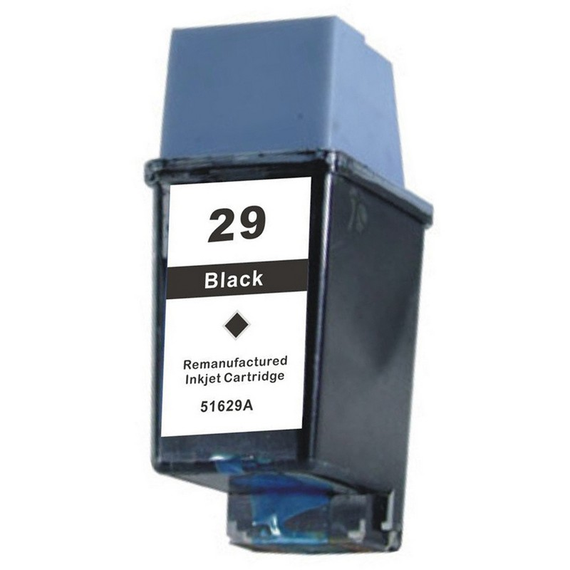 HP 51629A Black Ink Cartridge-HP #29