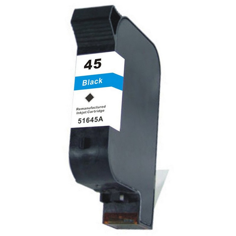 HP 51645A Black Ink Cartridge-HP #45