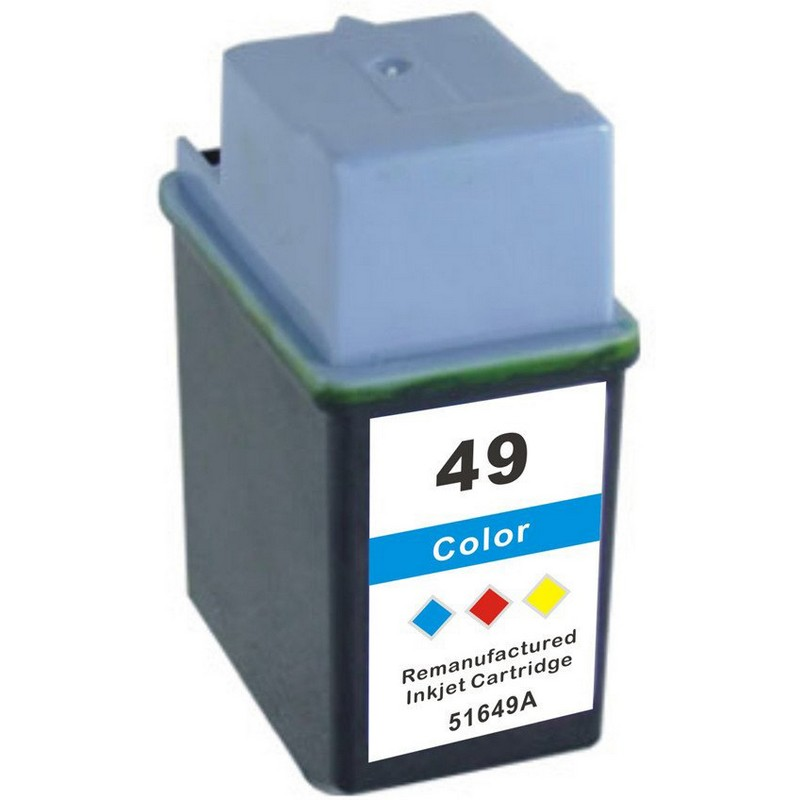 HP 51649A Color Ink Cartridge-HP #49