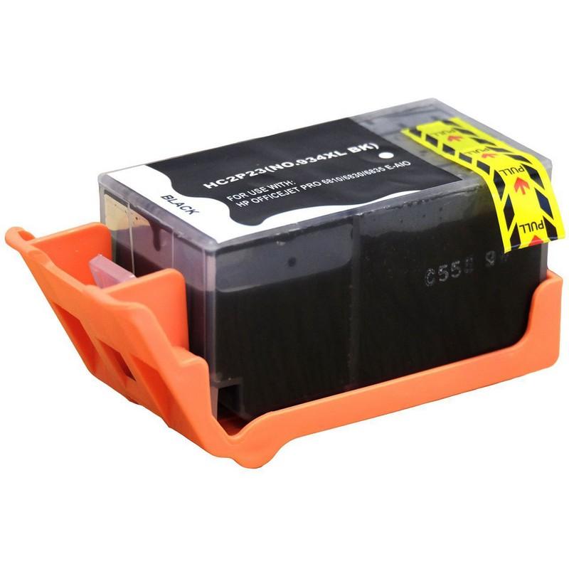 HP C2P23AN Black Ink Cartridge-HP #934XLB