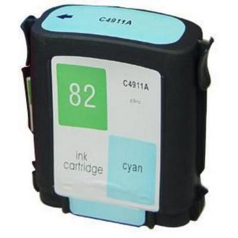 HP C4911A Cyan Ink Cartridge-HP #82