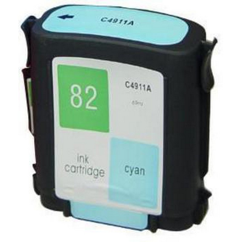 HP C4911A Cyan Ink Cartridge-HP #82