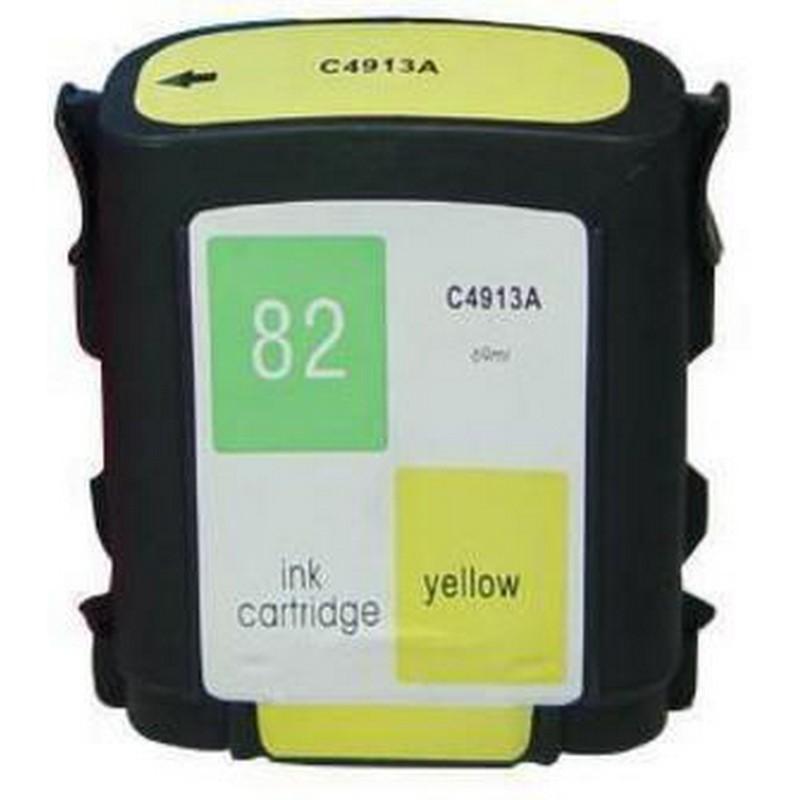 HP C4913A Yellow Ink Cartridge-HP #82