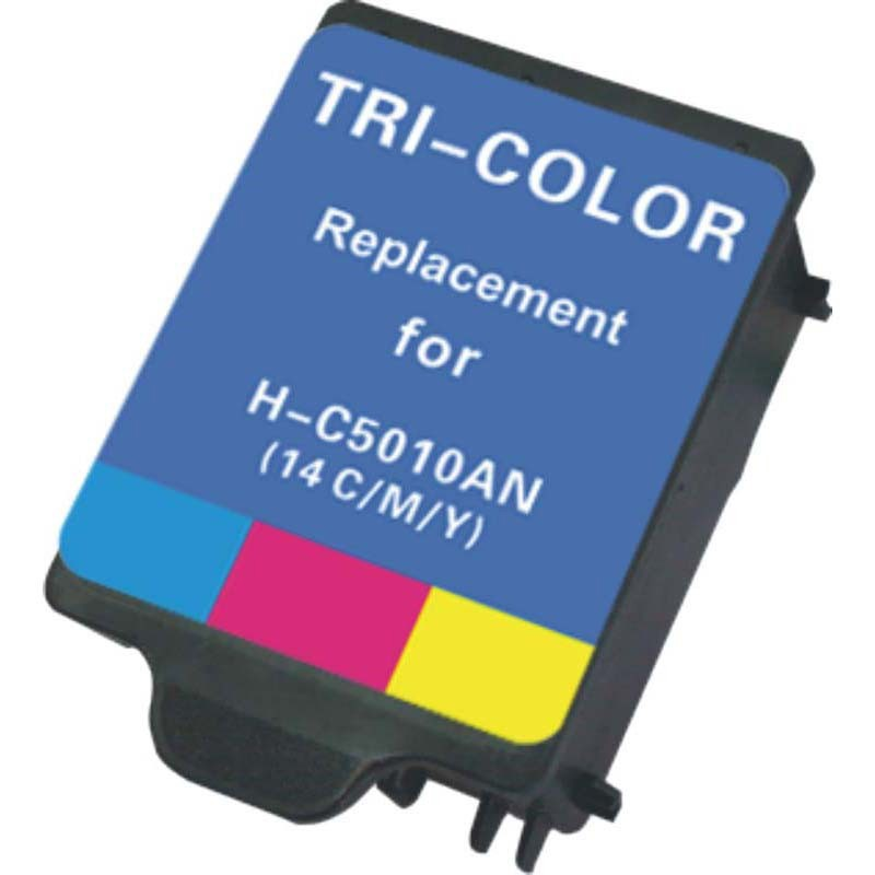 HP C5010A Color Ink Cartridge-HP #14