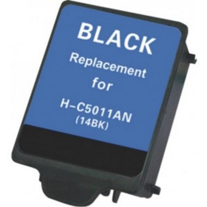 HP C5011A Black Ink Cartridge-HP #14