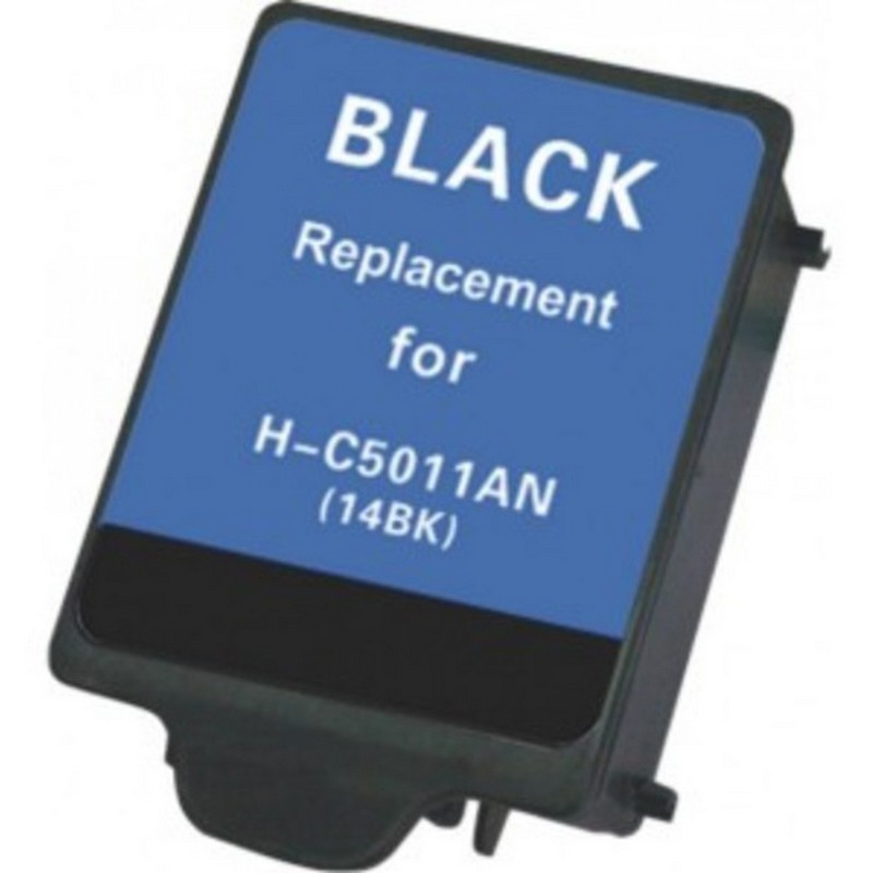 HP C5011A Black Ink Cartridge-HP #14