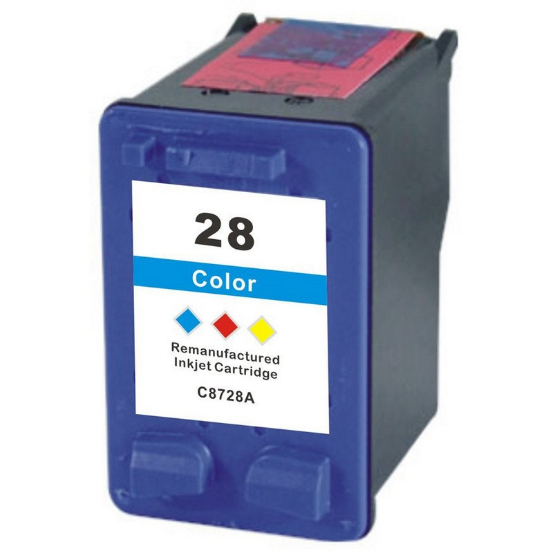 HP C8728A Color Ink Cartridge-HP #28