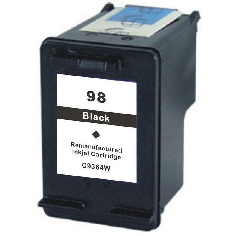 HP C9364WN Black Ink Cartridge-HP #98