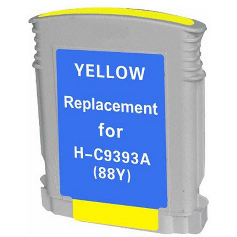 HP C9393A Yellow Ink Cartridge-HP #88XL