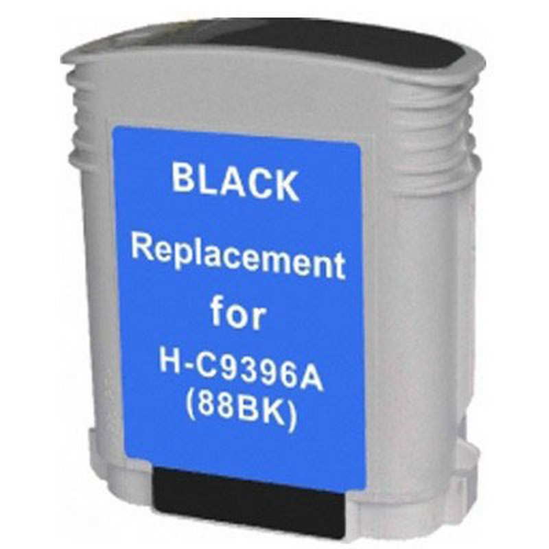 HP C9396A Black Ink Cartridge-HP #88XL