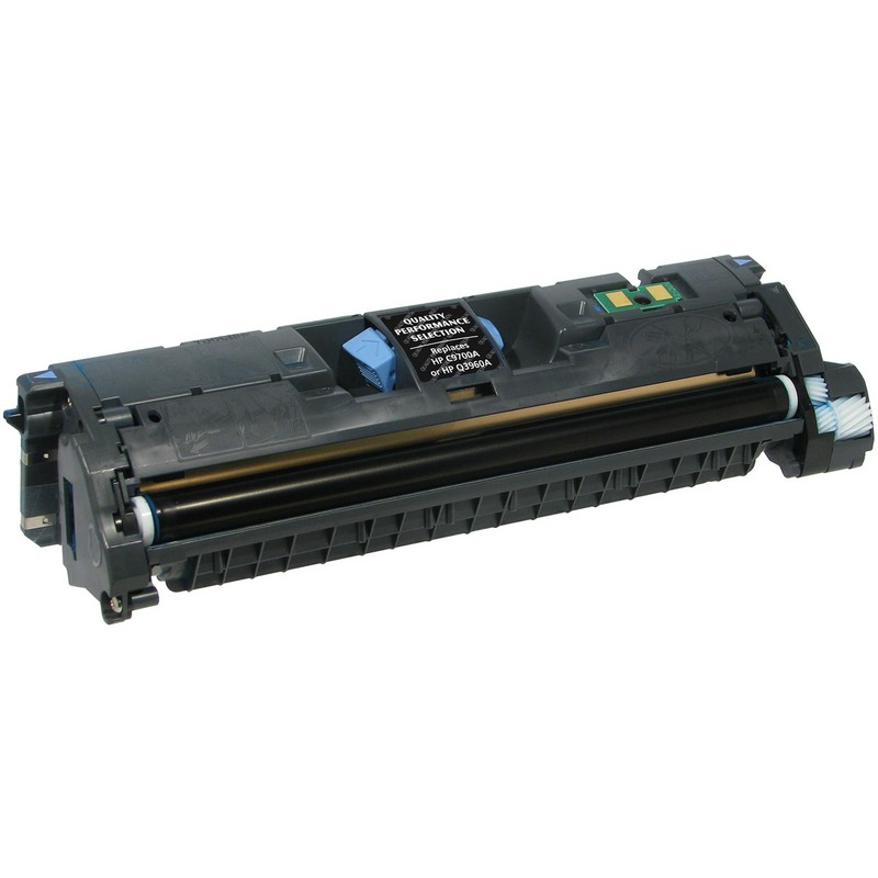 HP C9700A Black Toner Cartridge-HP Q3960A