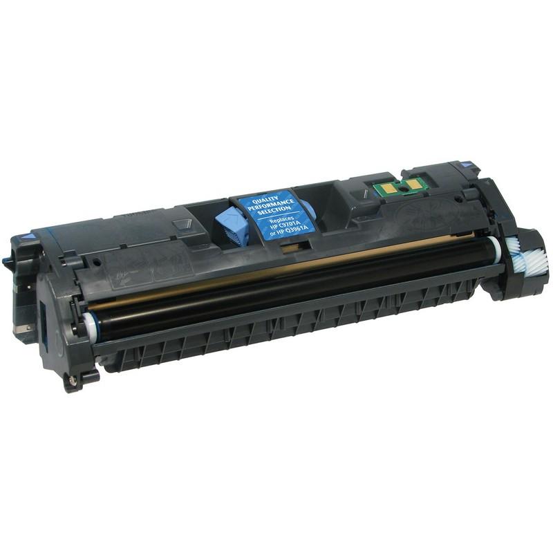 HP C9701A Cyan Toner Cartridge-HP Q3961A