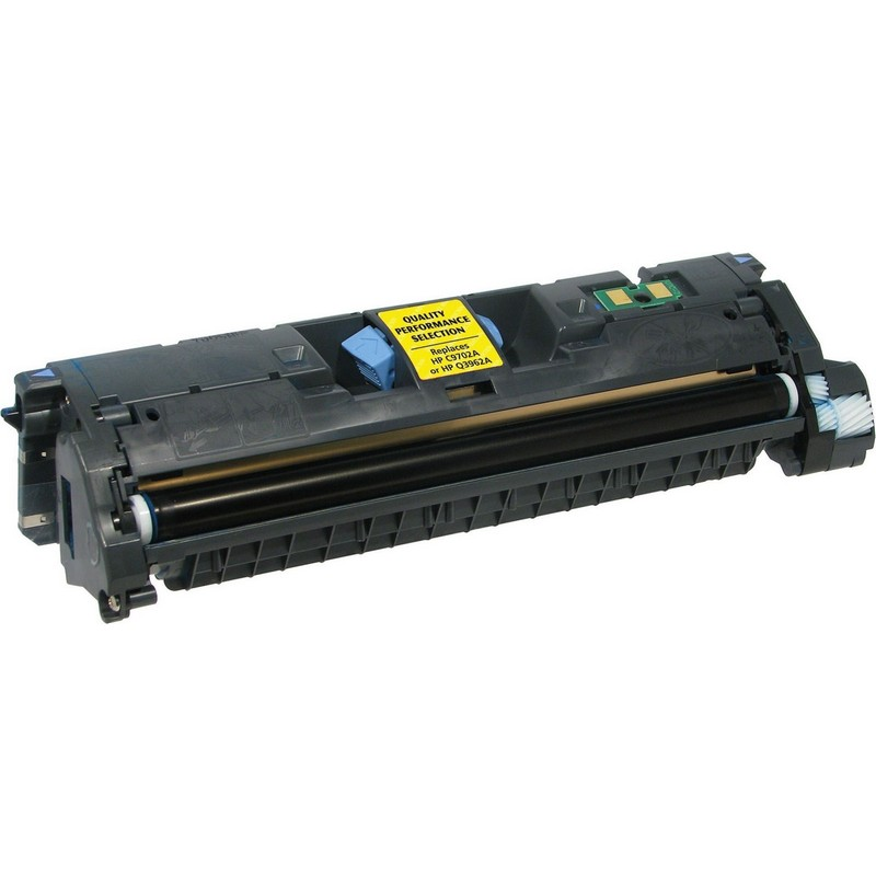 HP C9702A Yellow Toner Cartridge-HP Q3962A