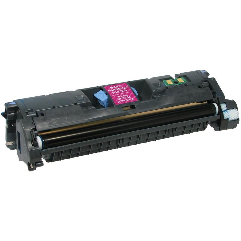 HP C9703A Magenta Toner Cartridge-HP Q3963A
