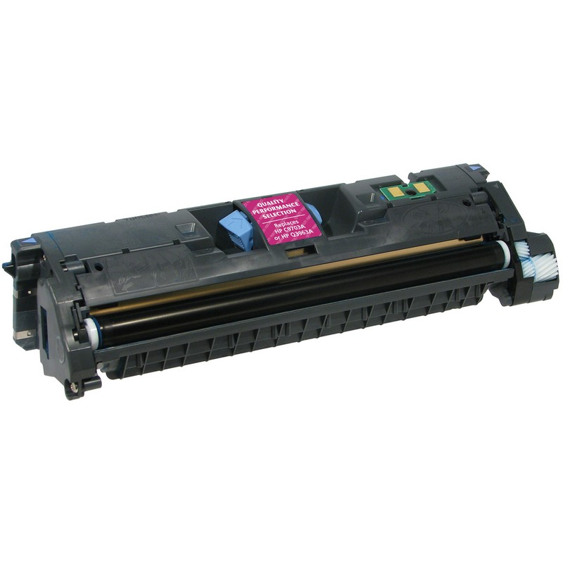 HP C9703A Magenta Toner Cartridge-HP Q3963A