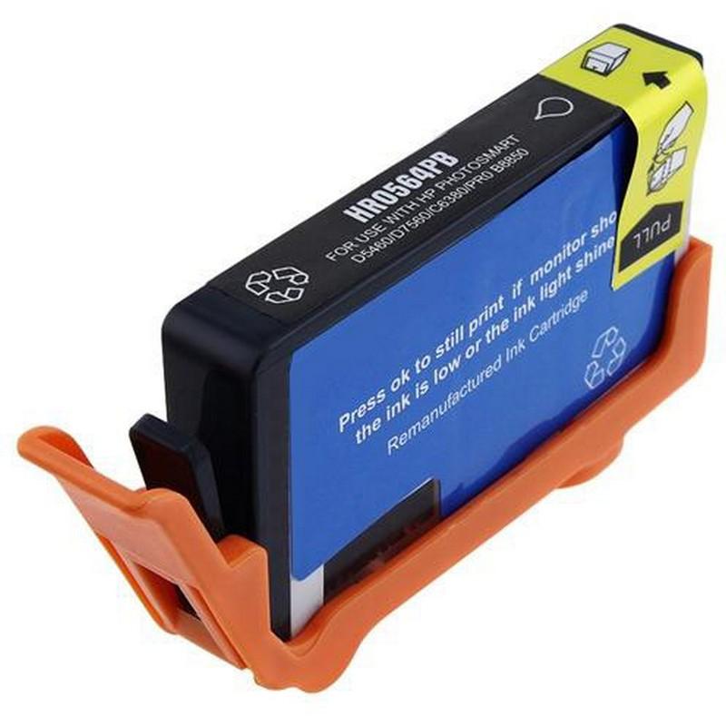 HP CB322WN Photo Black Ink Cartridge-HP #564XL
