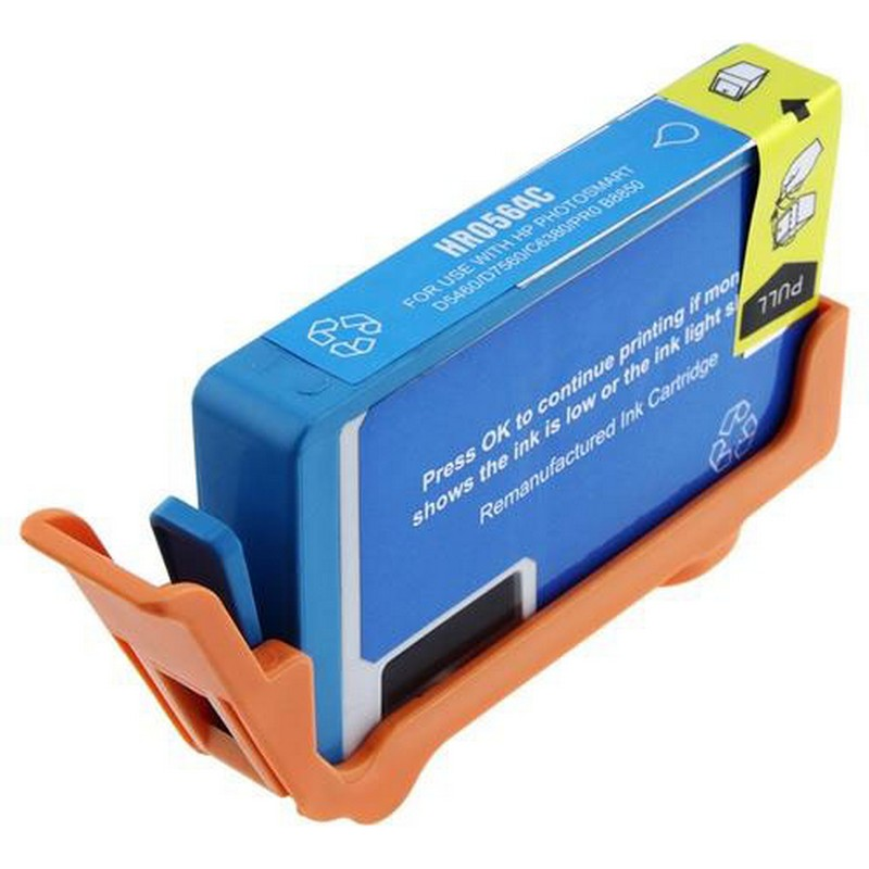 HP CB323WN Cyan Ink Cartridge-HP #564XL