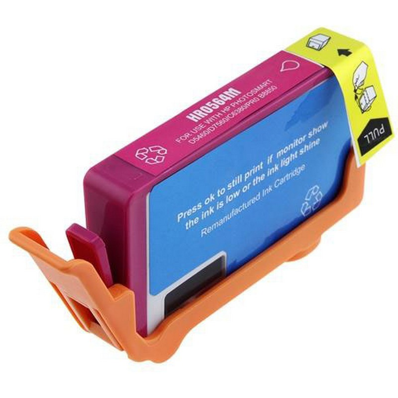 HP CB324WN Magenta Ink Cartridge-HP #564XL