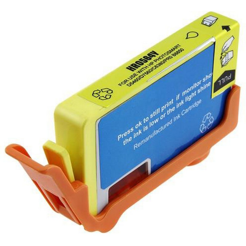 HP CB325WN Yellow Ink Cartridge-HP #564XL