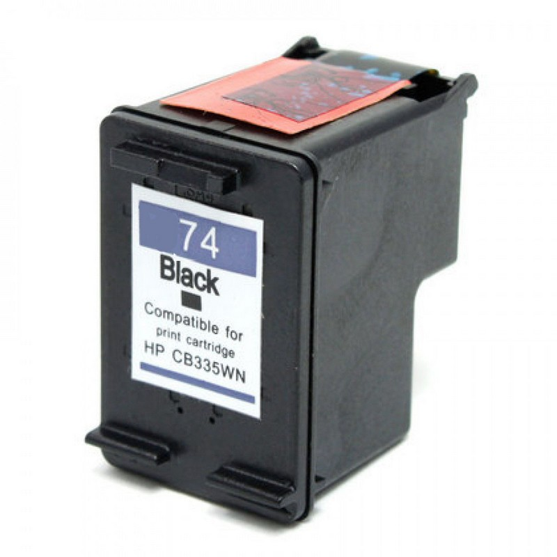 HP CB335WN Black Ink Cartridge-HP #74
