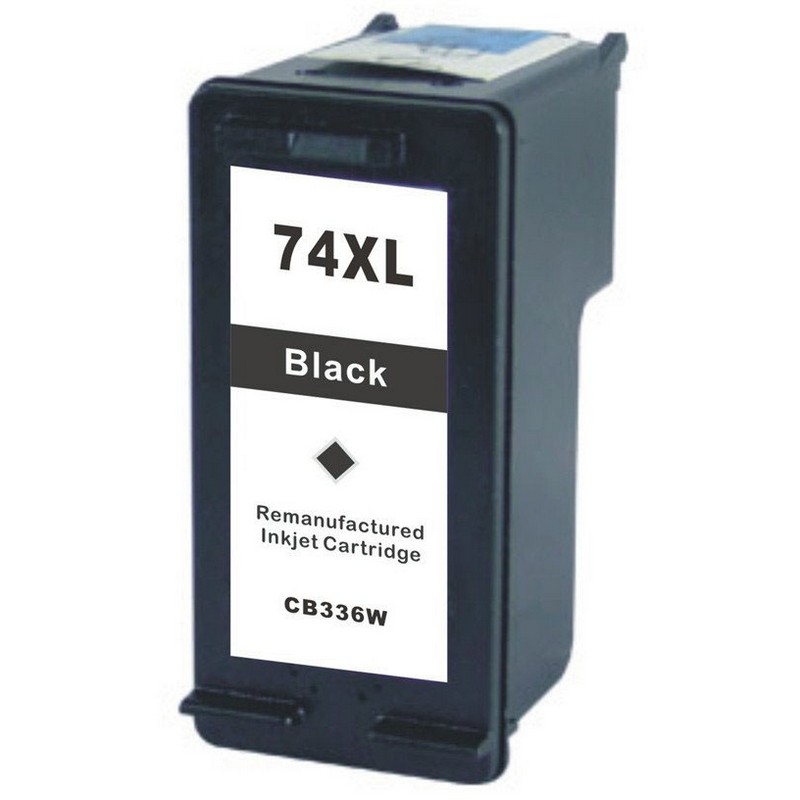 HP CB336WN Black Ink Cartridge-HP #74XL