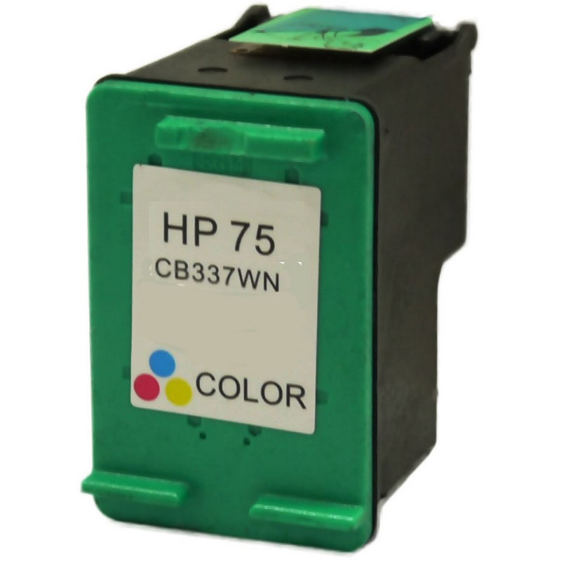 HP CB337WN Color Ink Cartridge-HP #75