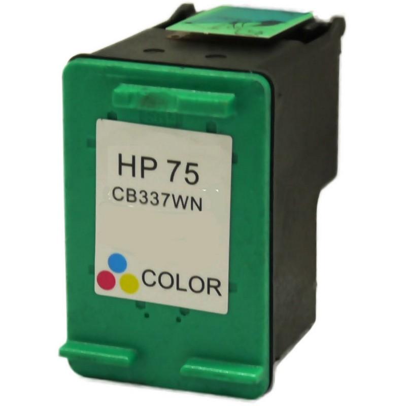 HP CB337WN Color Ink Cartridge-HP #75