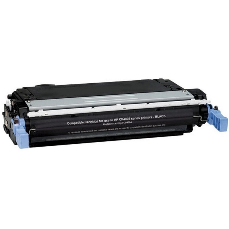 HP CB400A Black Toner Cartridge-HP 642A