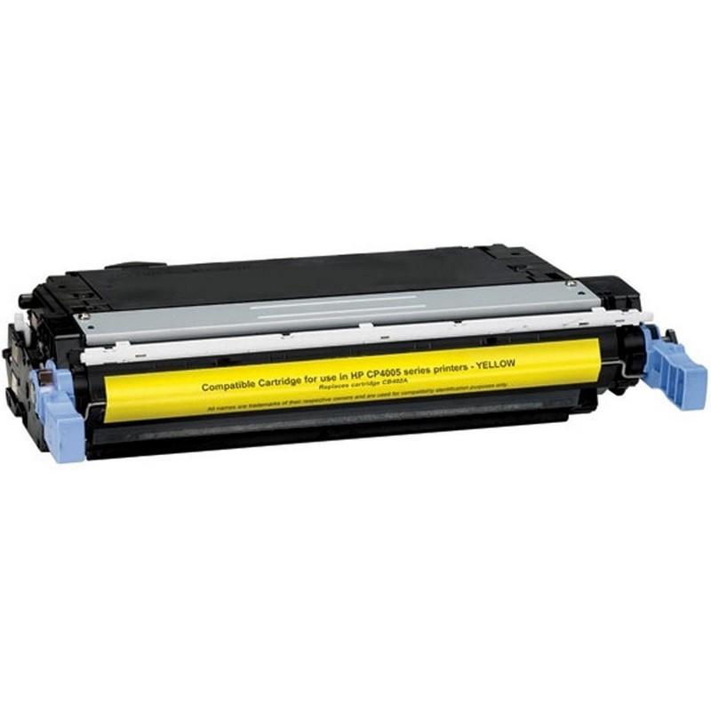 HP CB402A Yellow Toner Cartridge-HP 642A