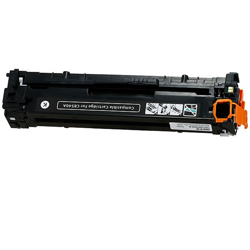 HP CB540A Black Toner Cartridge-HP 125A