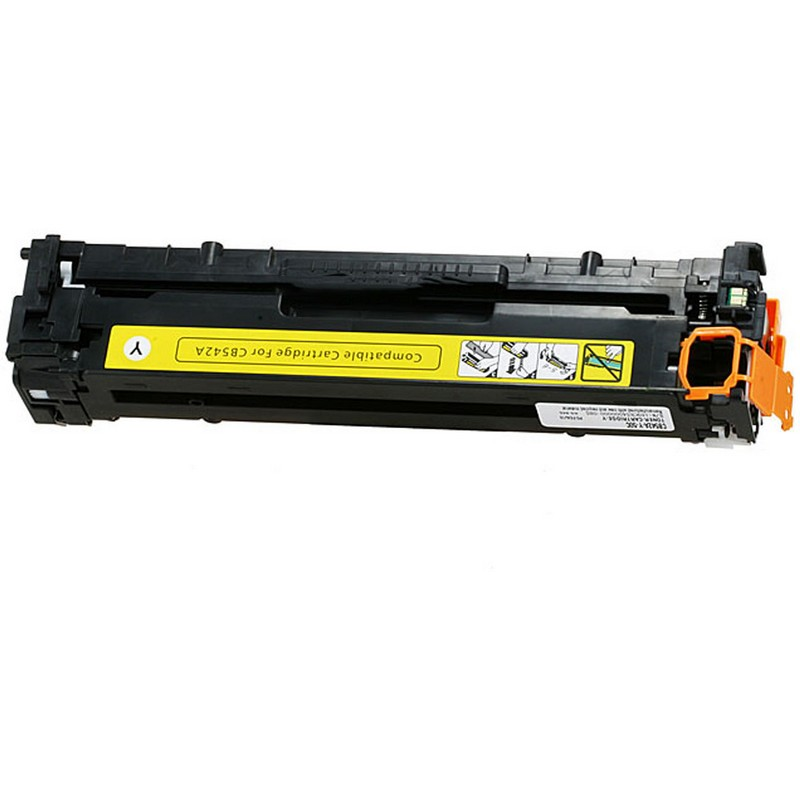 HP CB542A Yellow Toner Cartridge-HP 125A