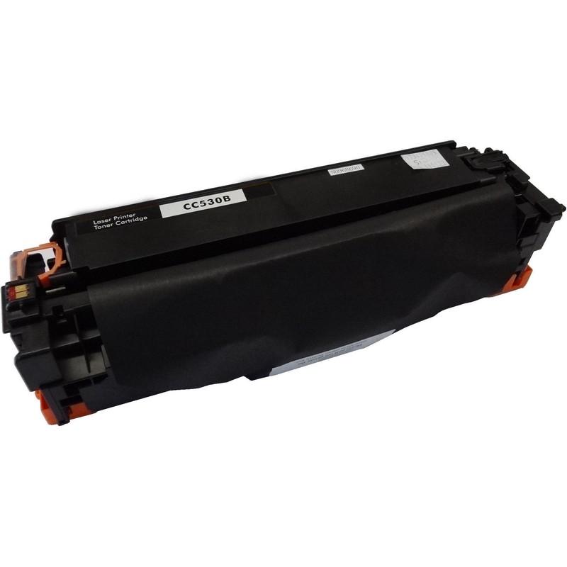 HP CC530A Black Toner Cartridge-HP 304A