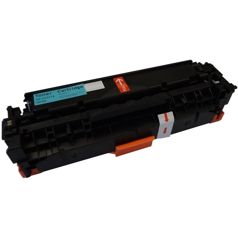 HP CC531A Cyan Toner Cartridge-HP 304A