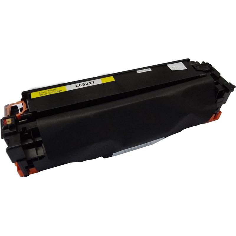 HP CC532A Yellow Toner Cartridge-HP 304A