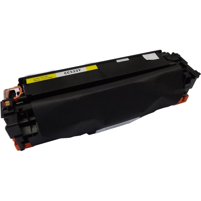 HP CC532A Yellow Toner Cartridge-HP 304A