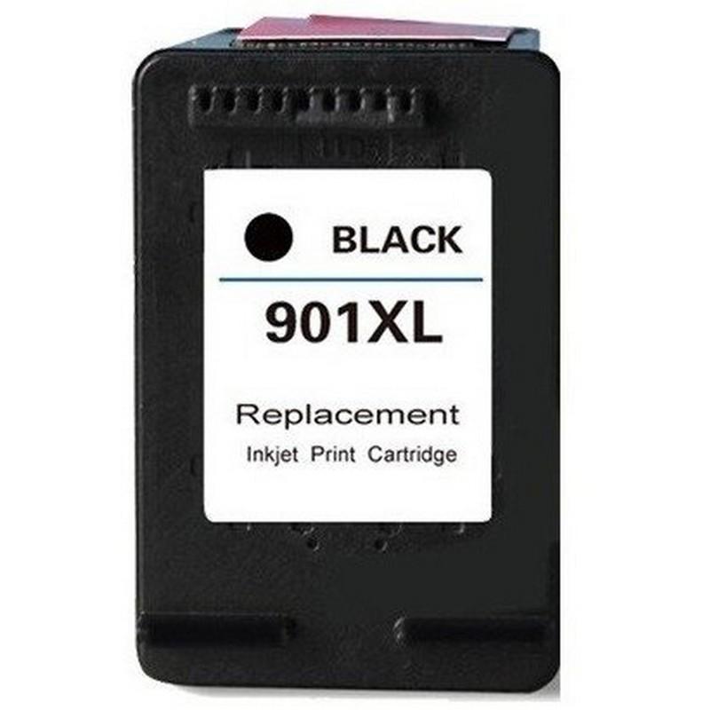 HP CC654AN Black Ink Cartridge-HP #901XL